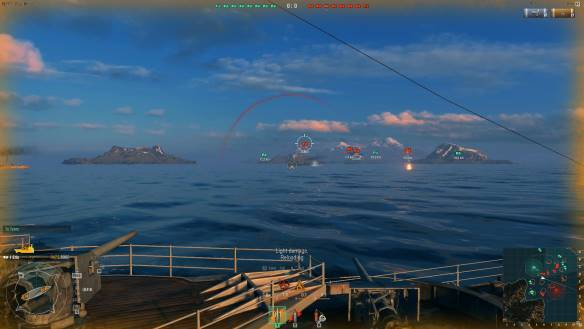 World of Warships juego mmorpg